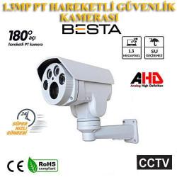 1,3 MP Ahd Motorize PT 4 Atom Led Güvenlik Kamerası BT-1844