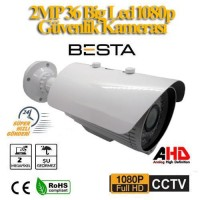 2 MP 1080P 36 Big Led Metal Kasa Ahd Güvenlik Kamerası BT-1903