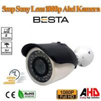 1080P 2MP AHD BULLET KAMERA 42 IR LED METAL KASA BT-2773