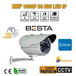 2 MP 1080P 36 BİG LED DIŞ MEKAN IP GÜVENLİK KAMERASI BT-3115