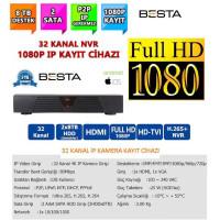 Besta NVR-8332 NVR IP 32 Kanal Kamera Kayıt Cihazı - ESEECLOUD