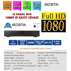 Besta NVR-83321 NVR IP 32 Kanal Kamera Kayıt Cihazı - ESEECLOUD