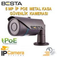 5mp Sony Lens 1080p ıp Poe  Metal Kasa Güvenlik Kamerası bt-4815