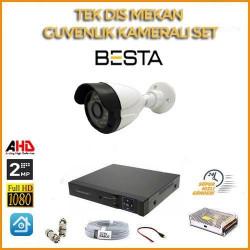 2MP1080P 1 kameralı Ahd Güvenlik Seti BG-5201