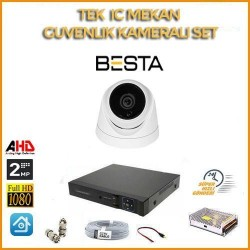 2MP 1080P 1 Kameralı Ahd Güvenlik Seti BG-5202