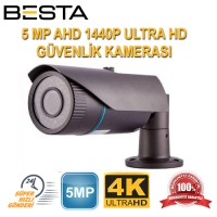 5MP AHD IR CAM 3.6MM 42LED AHD Güvenlik Kamerası (BS-8140)