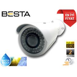 2MP 1080p AHD 42 Led Gece Görüşlü Güvenlik Kamerası BT-8143W