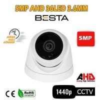 5MP AHD IR CAM 3.6MM 36 LED  Dome  Güvenlik Kamerası BT-842