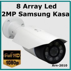 2MP 1080P ARN-2010 8 Array Led Full Hd  3.6MM Güvenlik Kamerası