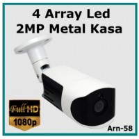2MP 1080P ARN-58 4 Array Led Full Hd  3.6MM Güvenlik Kamerası