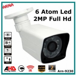 2MP 1080p ARN-9230 AHD 6 Atom Led FULL HD Güvenlik Kamerası