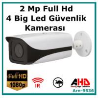 2 MP AHD 1080P Full Hd  ARN-9536 Metal Kasa Güvenlik Kamerası