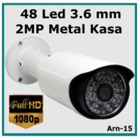 2 Mp 48 Led 3.6 mm Full Hd ARN-15 Metal Kasa Güvenlik Kamerası