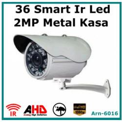 2MP AHD 1080P  ARN-6016 36 Big Led Gece Görüşlü Metal Kasa Güvenlik Kamerası