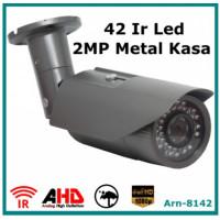 2Mp Full Hd  ARN-8142 Metal Kasa 42 Led Gece Görüşlü Güvenlik Kamerası