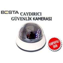 LED IŞIKLI CAYDIRICI SAHTE DOME GÜVENLİK KAMERASI BS-1789