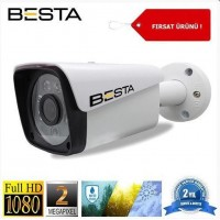2 mp 6 Atom LED 1080P FULL HD Metal Kasa Ahd Kamera BT-8036