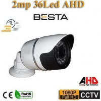 2MP 1080P Ahd Metal Kasa 36 Led Bullet Kamera ( BT-8975 )