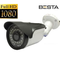 2MP Ahd 1080P 36LED Gece Görüşlü Metal Kasa Güvenlik Kamerası KD-1827