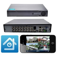 Picam PİDVR-8 AHD 8 Kanal DVR Kayıt Cihazı Xmeye Full HD 1080