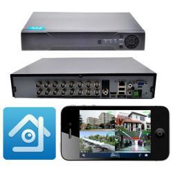 Picam PİDVR16  AHD 16 Kanal DVR Kayıt Cihazı Xmeye Full HD 1080