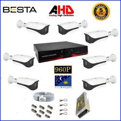 Besta BG-1329 2Mp Ahd 1080P Gece Görüşlü 7 Kameralı  Güvenlik Sistemi