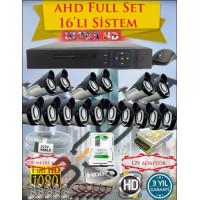 Besta KD-4166 2Mp Ahd 1080P Gece Görüşlü 16 Kameralı  Güvenlik Sistemi - 500GB HDD