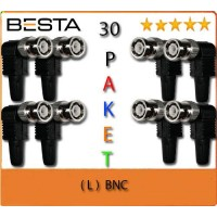 Besta BNC-107  L BNC KONNEKTÖR 30LU PAKET