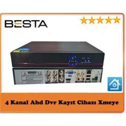 Besta BS-604HD AHD DVR 4 Kanal Kamera Kayıt Cihazı - Xmeye