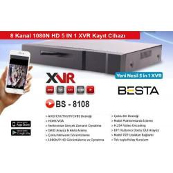 Besta BS-8108 XVR 8 Kanal Kamera Kayıt Cihazı