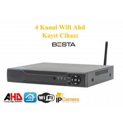 4 Kanal H265 Kablosuz Ahd Kayıt Cihazı BS-7004w