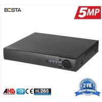 16 Kanal Ahd 5MP H265 Dvr Kayıt Cihazı Xmeye BS-816HD