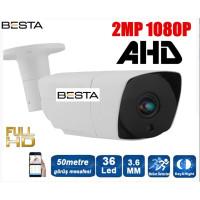 Besta BT-9765 2MP Ahd 1080P 36 Led Güvenlik Kamerası