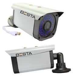 2MP Ahd 1080P 72 Led Metal Kasa Güvenlik Kamerası KD-1072
