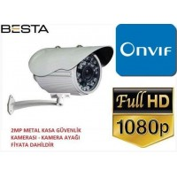 Besta BT-3115 2MP Ahd 1080P 36 Led Metal Kasa Güvenlik Kamerası
