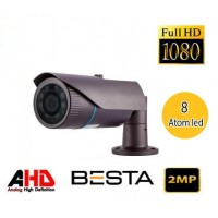 Besta BT-8581 2MP Ahd 1080P Atom Led  Metal Kasa Güvenlik Kamerası