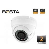 Besta KD-5280C 2Mp IR Dome Varifocal Lens 1080p Ip Kamera