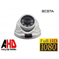 Besta BT-8267 2MP Ahd 1080P Atom Led Dome Güvenlik Kamerası