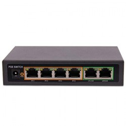 4 Port PoE Switch KD0420FL