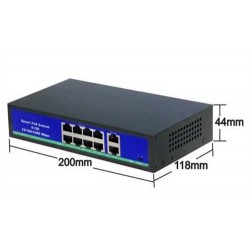 8 port PoE Switch KD0820