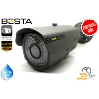 1080P 2.0MP 2,8 - 12MM Varifocal 72 LED AHD BULLET KAMERA BS-630